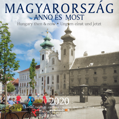 Magyarország Anno és Most 30x30 cm - 2020