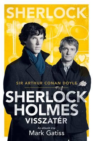 Sir Arthur Conan Doyle - Sherlock Holmes visszatér (BBC-s borító)