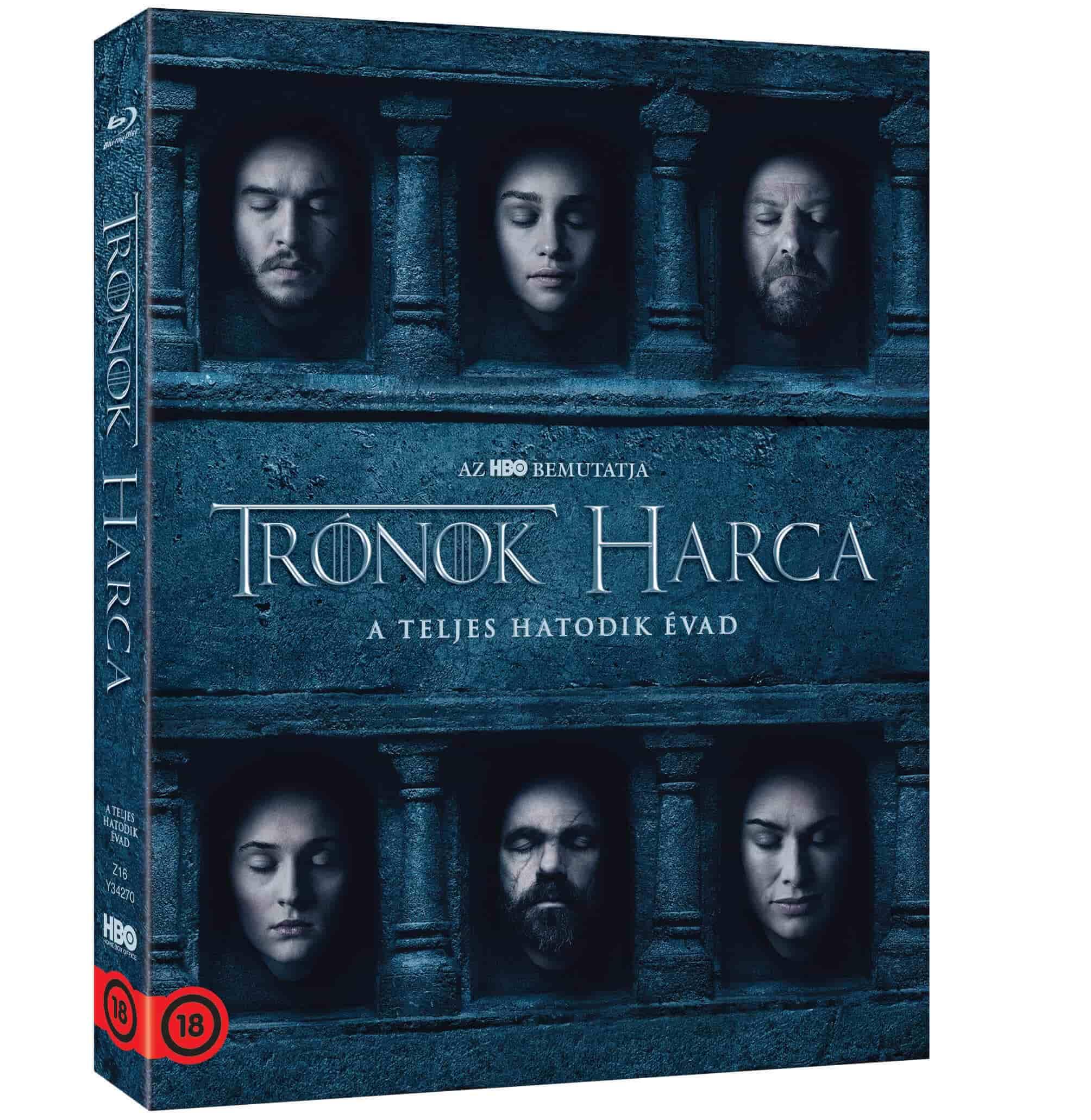 Trónok harca: 6. évad (4 BD) - Blu-ray