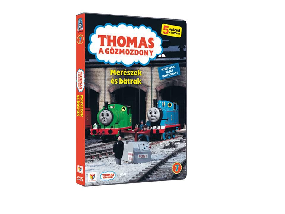 Thomas 07. - Merészek és bátrak - DVD