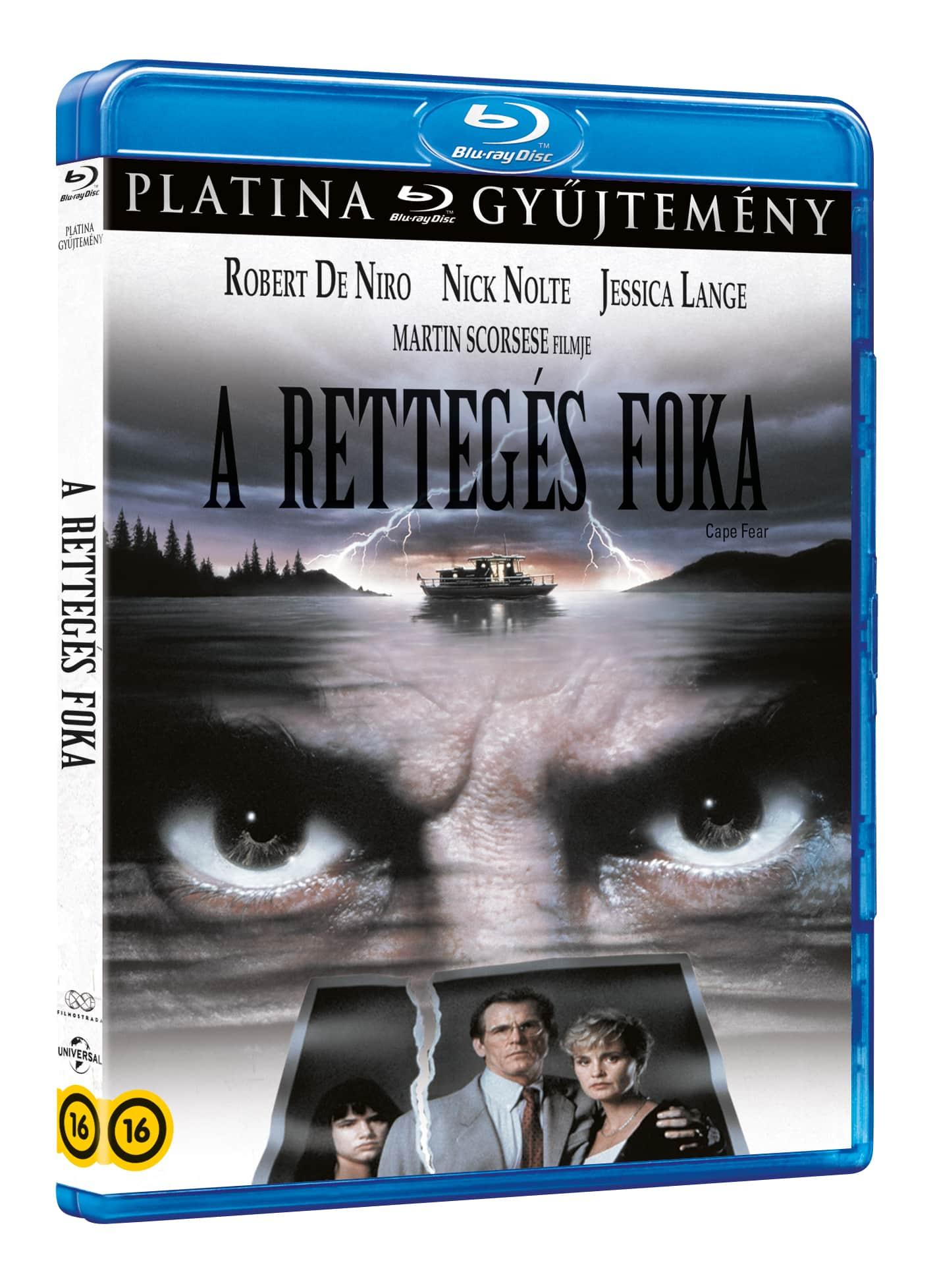Martin Scorsese - Rettegés foka (1991) (platina gyűjtemény) - Blu-ray