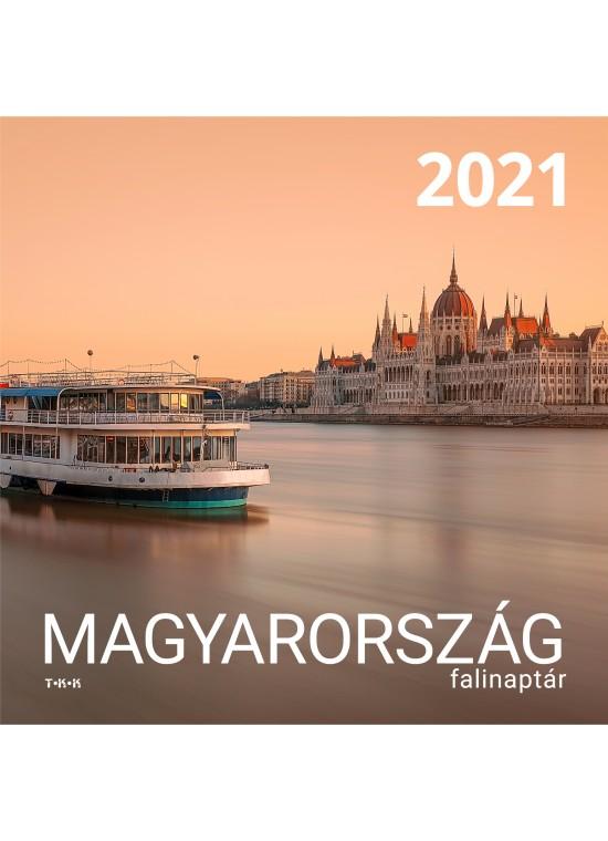 Magyarország falinaptár - 2021