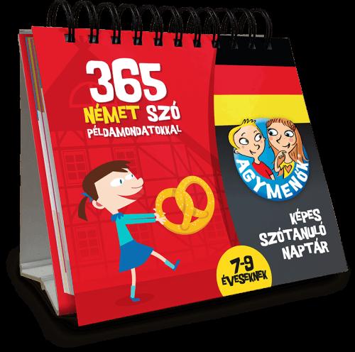 Agymenők 365 német szó példamondatokkal 7-9 éveseknek