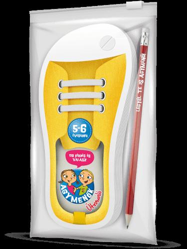 Agymenők Útravaló ceruzával 5-6 éveseknek